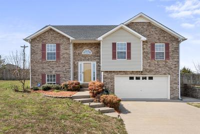 Clarksville Single Family Home Under Contract - Showing: 3490 Torrington Ln