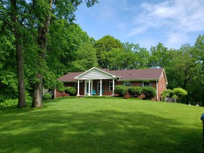 Goodlettsville Single Family Home For Sale: 6120 Lickton Pike