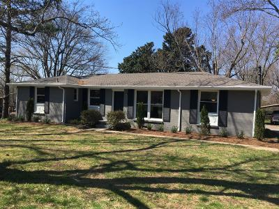 Old Hickory Single Family Home For Sale: 309 Grandview Dr