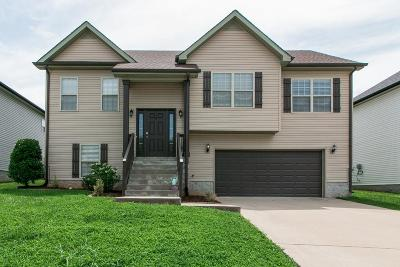 Clarksville Single Family Home Under Contract - Not Showing: 686 Fox Trail Ct