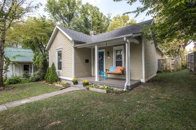 Nashville Single Family Home Under Contract - Showing: 1513 Long Ave