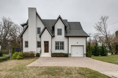 Nashville Single Family Home For Sale: 970 Graybar Ln