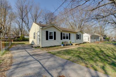 Clarksville Single Family Home For Sale: 230 Tobacco Rd