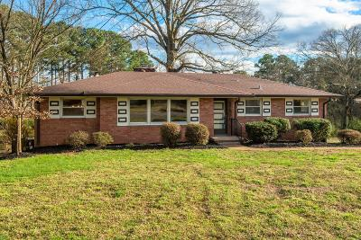 Old Hickory Single Family Home For Sale: 105 Ryburn Dr