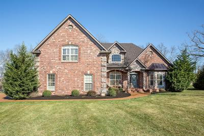 Mount Juliet TN Single Family Home Under Contract - Not Showing: $609,000