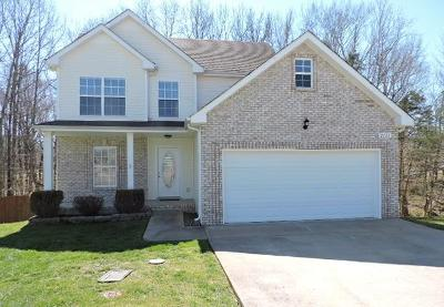 Clarksville Single Family Home Under Contract - Showing: 2701 Hidden Ridge Ct
