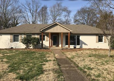 Lebanon Single Family Home Under Contract - Not Showing: 1625 Shady Cir