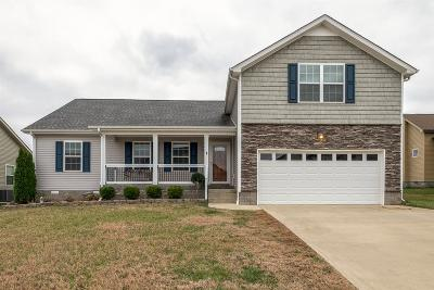 Clarksville Single Family Home Under Contract - Showing: 148 Verisa Dr