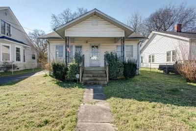 Nashville Single Family Home For Sale: 513 Timmons St
