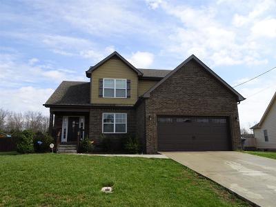 Clarksville Single Family Home For Sale: 3433 Bradfield Drive