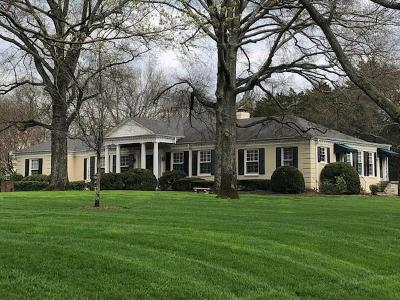 Nashville Single Family Home For Sale: 612 Belle Meade Blvd