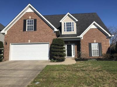 Spring Hill Single Family Home For Sale: 1002 Chapmans Crossing Dr