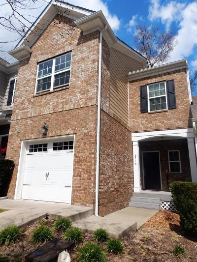 Nashville Condo/Townhouse For Sale: 3710 Shane Point Pl