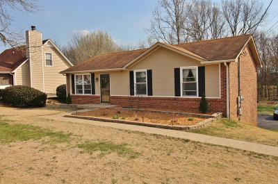Clarksville Single Family Home Under Contract - Showing: 408 Newman Dr