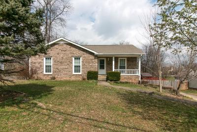 Clarksville Single Family Home Under Contract - Not Showing: 3121 Arrow Ln