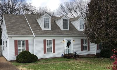 Thompsons Station  Single Family Home Under Contract - Showing: 2852 Maple Cir