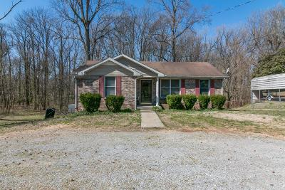 Clarksville Single Family Home Under Contract - Showing: 34 Bunker Hill Rd