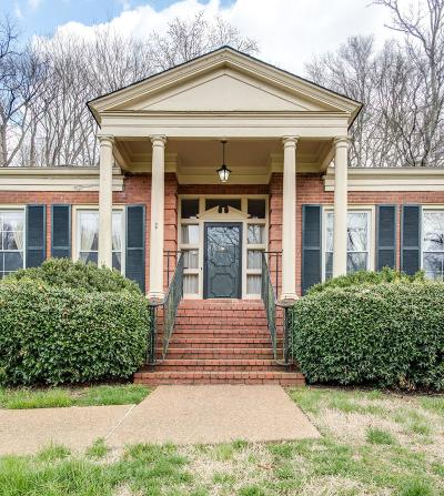 Nashville Single Family Home For Sale: 6120 Chickering Ct