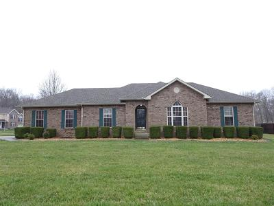 Clarksville Single Family Home Under Contract - Not Showing: 1638 Windriver Road