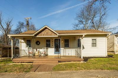 Old Hickory Single Family Home For Sale: 1610 Overton St