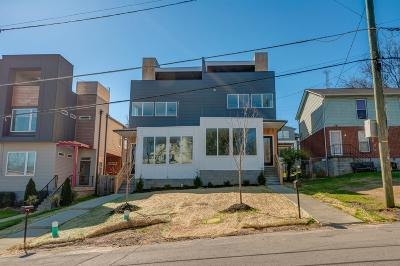 Single Family Home For Sale: 409 B A 35th Ave N