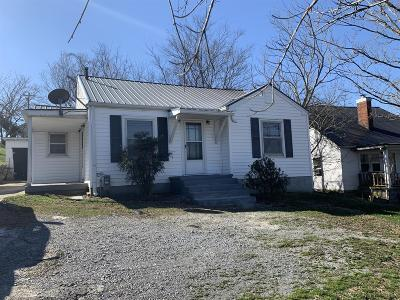 Woodbury TN Single Family Home For Sale: $90,000