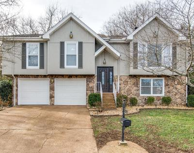 Nashville Single Family Home For Sale: 3141 Goodwin Drive