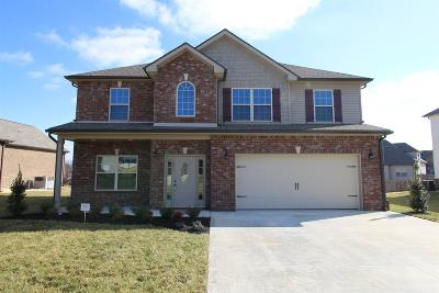 Clarksville TN Single Family Home Under Contract - Showing: $274,900