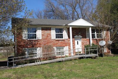 Murfreesboro Single Family Home Under Contract - Not Showing: 1503 Bartway Dr