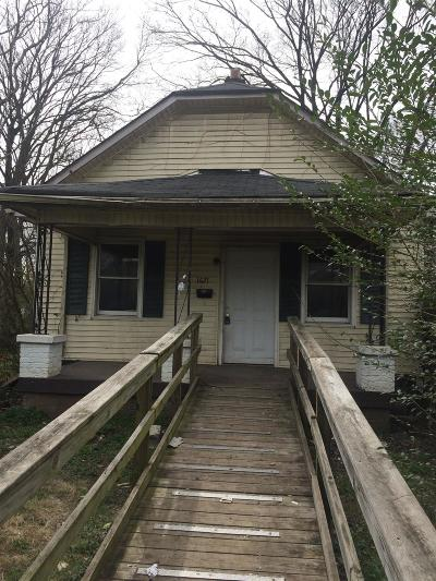 Nashville Single Family Home For Sale: 1627 12th Ave N