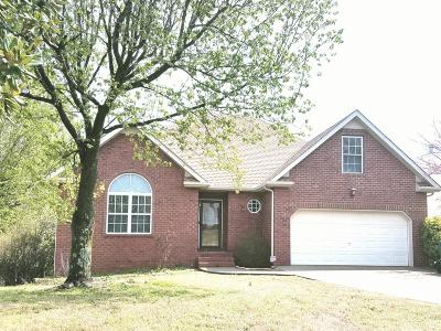 Lavergne Single Family Home Under Contract - Showing: 817 Briargrove Dr