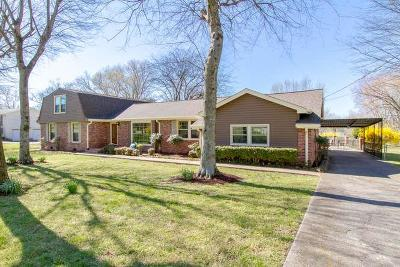 Hendersonville Single Family Home For Sale: 104 Glenn Hill Dr