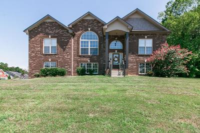 Clarksville Single Family Home Under Contract - Not Showing: 1325 Vantage Ct
