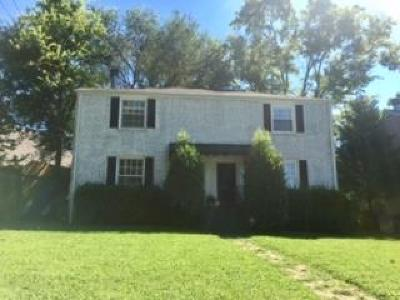 Nashville Condo/Townhouse For Sale: 318 Chesterfield Ave
