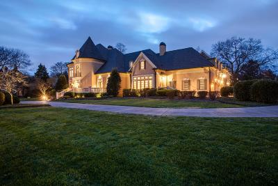 Nashville TN Single Family Home For Sale: $2,475,000