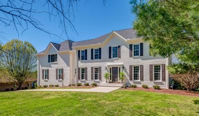 Brentwood  Single Family Home Under Contract - Not Showing: 9248 Brushboro Dr