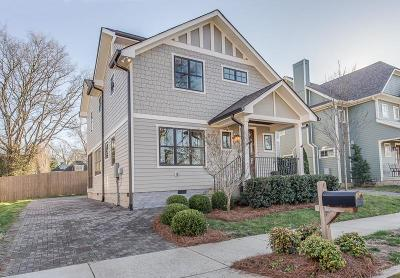 Sylvan Park Single Family Home Under Contract - Not Showing: 4509 Utah Ave