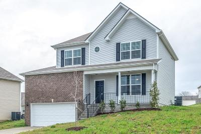 Single Family Home Under Contract - Showing: 1105 Harmony Ln