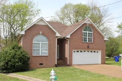 White House Single Family Home For Sale: 113 Choctaw Circle