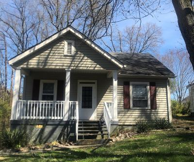 Clarksville Single Family Home Under Contract - Not Showing: 717 Gracey Ave