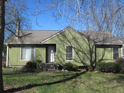 Rutherford County Single Family Home Under Contract - Not Showing: 109 Brookridge Dr