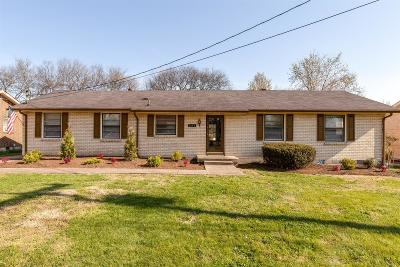 Hendersonville Single Family Home Under Contract - Not Showing: 281 Southburn Dr