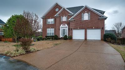 Franklin Single Family Home Under Contract - Showing: 1205 Grayson Court