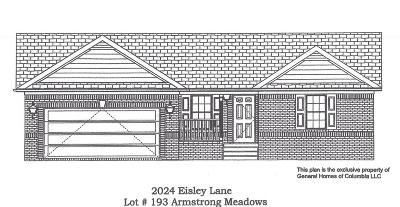 Columbia Single Family Home Under Contract - Not Showing: 2024 Eisley Ln