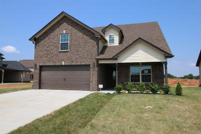 Clarksville Single Family Home Under Contract - Showing: 337 Summerfield