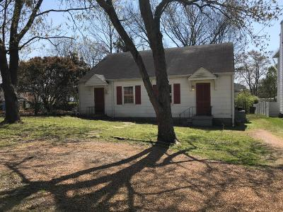 Nashville Single Family Home Under Contract - Not Showing: 4003 Nebraska Ave