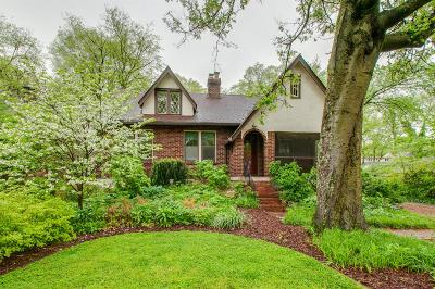 Nashville Single Family Home Under Contract - Showing: 2612 W Linden Ave