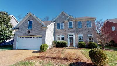Spring Hill Single Family Home For Sale: 1002 Williford Ct