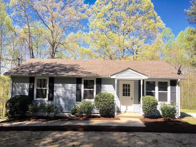 Ashland City Single Family Home Under Contract - Not Showing: 1101 Valley View Rd