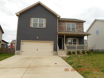 Clarksville Single Family Home Under Contract - Not Showing: 3770 Tradewinds Ter